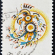 Stock Photo: CANAD- CIRC1973: stamp printed by Canada, shows Plains Indians, circ1973