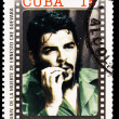 Stamp commemorating anniversary of the death of Che Guevara in Bolivia — Stock Photo #7378154
