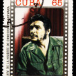 Stamp commemorating anniversary of the death of Che Guevara in Bolivia — Stock Photo #7378165