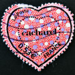 Stock Photo: Stamp shows heart by Cacharel