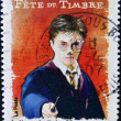 Stamp shows Harry Potter - Stock Photo