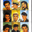 Stamp showing Elvis Presley - rock and roll singer — Stock Photo #7378630