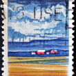 Stok fotoğraf: Stamp dedicated to State Illinois