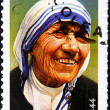 Royalty-Free Stock Photo: Stamp shows mother Teresa