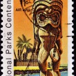 Stamp shows National Park on Hawaii - City of Refuge — Stock Photo #7378884
