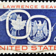 Stamp dedicated to St Lawrence Seaway — Foto Stock #7378898