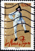 FRANCE - CIRCA 2006: A stamp printed in France shows character of opera The Marriage of Figaro, circa 2006 — Stock Photo