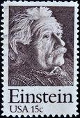 Stamp shows Einstein Portrait — Stock Photo