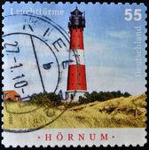 GERMANY - CIRCA 2007: stamp printed by Germany, shows shot put, circa 2007 — Foto Stock