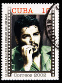 Stamp commemorating anniversary of the death of Che Guevara in Bolivia — Stock fotografie