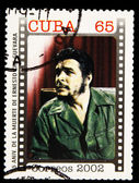 Stamp commemorating anniversary of the death of Che Guevara in Bolivia — Stock Photo