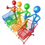 Spectrum Shopping — Stock Photo