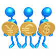Yes Currency — Stock Photo