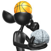 Basketball Mind — Stock Photo