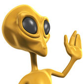 Alien — Stock Photo