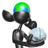 Global Thinking — Foto de Stock