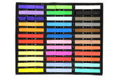Set of colored chalks — Stock Photo