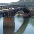 Bridge over Temo river — Stock Photo