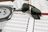 óculos de sol aviador — Foto Stock