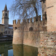 Water in the moat — Stock Photo