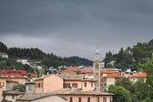 Pueblo antes de la tormenta — Foto de Stock