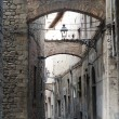 Stock Photo: Pistoi(Tuscany), old street