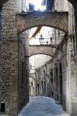 Pistoia (Tuscany), old street — Stock Photo