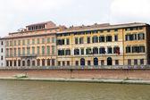 Pisa: the Arno river — 图库照片