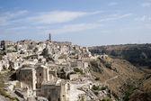 Matera (Basilicata, Italy) - The Old Town (Sassi) — 图库照片