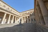 Lecce (Puglia, Italy): The Carducci square — Stock Photo