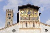 卢卡,圣弗雷迪亚诺圣殿教堂 — 图库照片