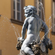 Prato (Tuscany), ancient fountain — Stock Photo