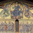 Lucca, SFrediano church: mosaic — Stock Photo #6878151