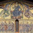 Lucca, San Frediano church: mosaic — Stock Photo #6878151