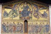 Lucca, kościoła san frediano: mozaika — Zdjęcie stockowe