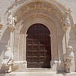 Ruvo (Bari, Puglia, Italy): Old cathedral in Romanesque style, d — Stock Photo