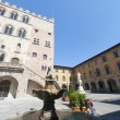 Stock Photo: Prato (Tuscany), historic square