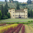 Ancient villa near Pistoia (Tuscany) — Stock Photo #6923857