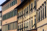 Pisa, old buildings — Stock Photo