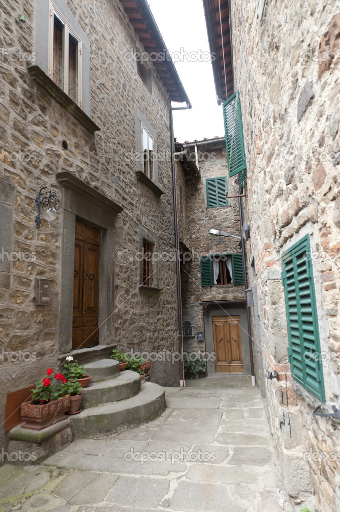 San Quirico (Svizzera Pesciatina, Pistoia Tuscany, Italy) - Typical old village — Stock Photo #6923861