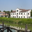 Riviera del Brenta (Veneto, Italy): Historic villa on the river — Foto Stock