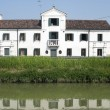 Stock Photo: Rivierdel Brent(Veneto, Italy): Historic villon river