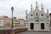 Pisa, santa maria della spina — Stock fotografie