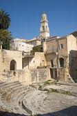 Lecce (Apulia): Roman theatre, ruins — Stock Photo
