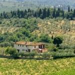 Farm in Tuscany near Artimino — Stock Photo