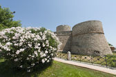 Manfredonia (Foggia, Puglia, Italy) - Castle — Stock Photo