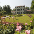 Stock Photo: Rivierdel Brent(Veneto, Italy) - Historic villand garden