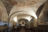 Colle di Val d'Elsa, cathedral interior — Stock Photo