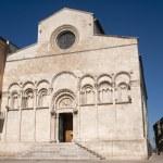 Termoli (Campobasso, Molise, Italy) - Cathedral facade — Stock Photo