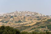 Forenza (Potenza, Basilicata, Italy) at summer — Stock Photo